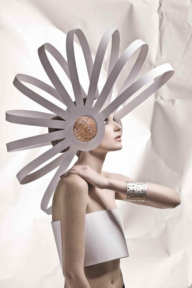 High Fashion Kopfschmuck leicht abgewandelt